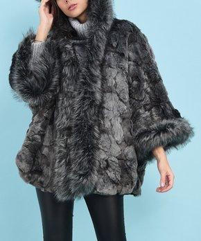 297b9d6d693b La Fille du Couturier   Beige Leopard Zoe Faux Fur Coat - Women. shop now.  only 1 left