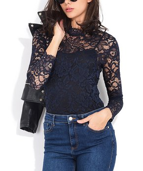 df584ba49cb13 Lace Tops for Women at Up to 70% Off
