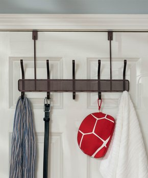 7637 Towel Rack Hanging Holder Organizer Bathroom Cabinet Cupboard Hanger Alarm Clocks & Clock Radios