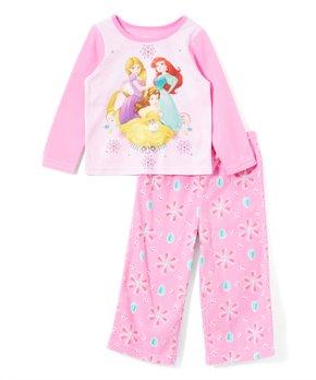 856c0fdce AME | Disney Princess Pink Floral Pajama Set - Toddler