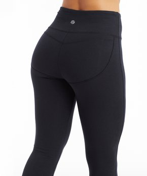 0906fa190ee78 Bally Total Fitness | Black 27'' Booty Booster Leggings - Women