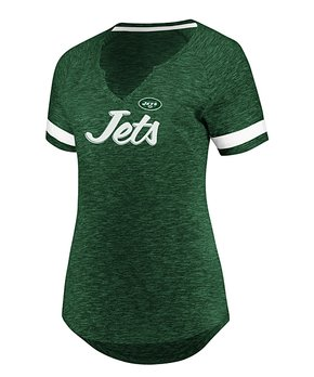 df826c3f Profile Apparel | New York Jets Short-Sleeve Hyper Slub Tee - Women &…