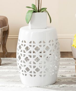 Astonishing Garden Stools For Indoors Out Zulily Creativecarmelina Interior Chair Design Creativecarmelinacom