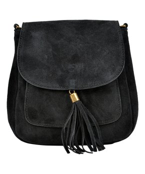 d1dcdee7514 taupe tassel leather crossbody bag 294116 56225993.html