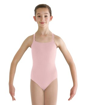 d09b33c6495b Bloch | Candy Pink Adjustable-Strap Leotard - Girls