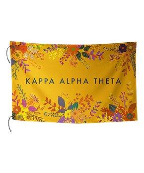 Alexandra And Company License Plate Frame Kappa Alpha Theta