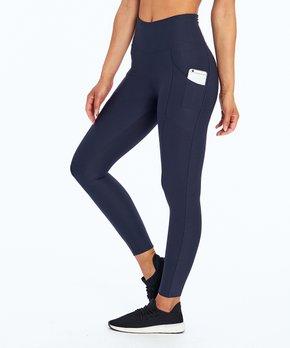 3b10f5b52d8cf Marika   Navy Blazer Solid Pocket Tummy-Control Leggings - Women