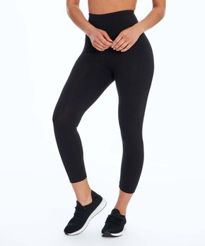 8917f1f8dea3d Bally Total Fitness | Black 22'' High-Waist Tummy Control Leggings - …