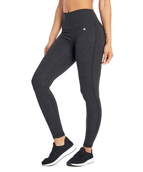 c407a15c36d52f Bally Total Fitness | Heather Charcoal 27'' High-Waist Tummy-Control …