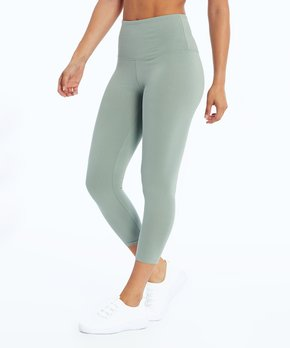 15f86a08c5f3b Balance Collection | Slate Gray Ultra High-Waist Crop Leggings - Women