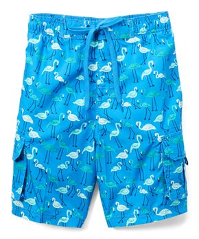 043dc1bf43fa8 Kanu Surf | Royal Key West Flamingo Swim Trunks - Infant, Toddler & B…