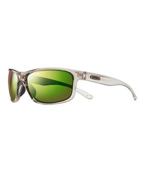1f1510f5e4ed Revo | Shiny Black & Blue Crux Polarized Browline Sunglasses. all gone