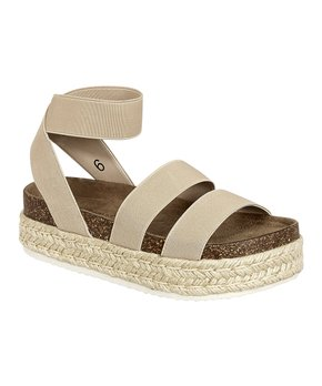 Pierre Dumas | Nude Ankle Wrap Messa Sandal - Women