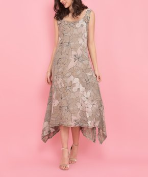 65550897a6 ... Pink Floral Vegas Linen Dress - Women. shop now. only 1 left