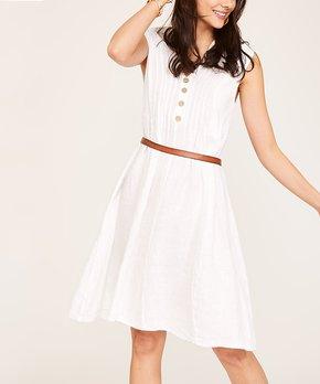 c30a2d2988 white linen dress