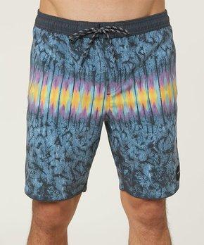 d446a146ac086 O'Neill | Dark Blue Hodge Podge Volley Cruzer Board Shorts - Men
