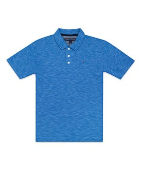 f4e68c38 only 1 left. Strong Blue Polo - Boys
