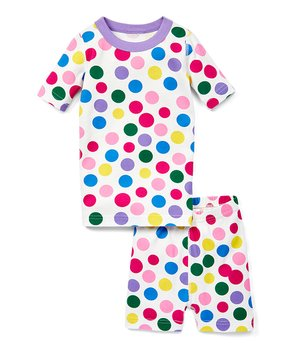 d228568336 Hanna Andersson   Blowing Bubbles Organic Cotton Short John Pajama Se…
