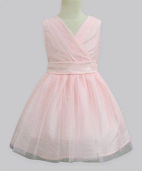 16c74a503 A.T.U.N.   Peach Clara A-Line Dress - Infant, Toddler & Girls