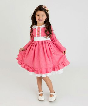 760b785d1aa8b Think Pink Bows | Watermelon Analisse Dress - Infant, Toddler & Girls