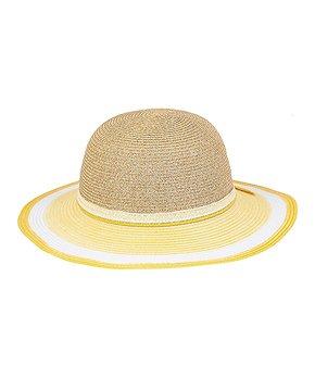 02ad960c Sunny Dayz | Yellow Contrast-Brim Floppy Hat