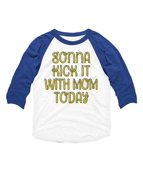 Toddler Short Sleeve Tee Instant Message Straight Chinchillin