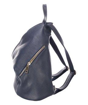 Giulia Massari   Blue Leather Backpack 9a053da151