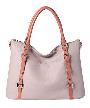 3589dd24d8f8 rosata center tassel leather crossbody bag 294116 57038714.html | Zulily
