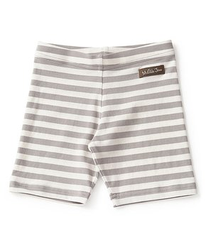 1b8a6a77c20 Matilda Jane Clothing | Khaki Stripe Jump-Right-In Bike Shorts - Todd…
