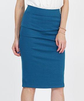 64829899fe125f Fired Brick Ponte Pencil Skirt - Women · all gone