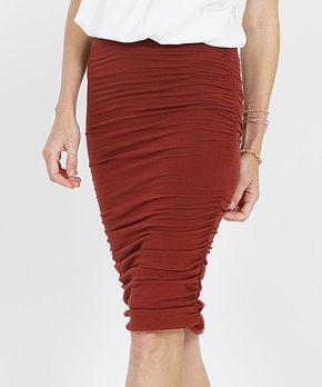 b1baf49d948c71 Teal Ponte Pencil Skirt - Women · only 2 left