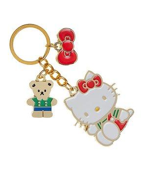d311e1b14 Pink & Goldtone Hello Kitty Key Chain