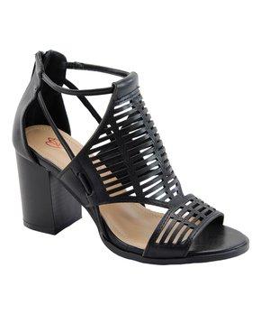 3dce4e0ca8 DBDK Fashion | Black Calissa Gladiator Sandal - Women