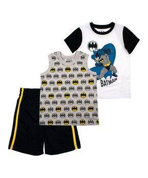 b4bc86ac Children's Apparel Network | Batman Shorts Set - Infant