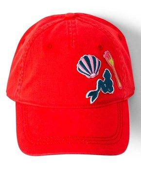 08f9c8fa Roxy | The Little Mermaid Rococco Red Dear Believer Baseball Cap