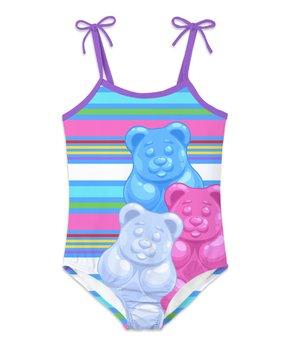 528f8bba pink bear playsuit set.html | Zulily