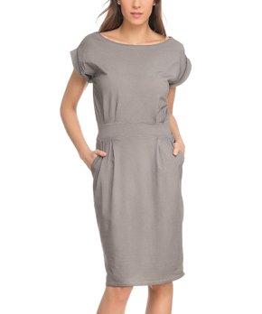 81ff55a6 Tantra | Gray Pocket Sheath Dress - Women