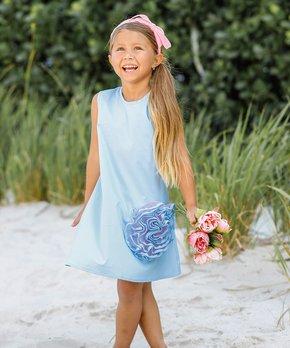cf545a03cdda9 Mia Belle Girls   Girls Side Ruffle Flower A-Line Dress - Girls