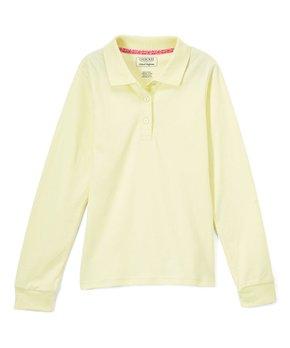 4a612a446 Cherokee | Yellow Long-Sleeve Polo - Girls