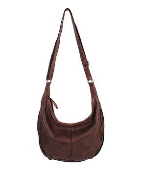 7b8cd8bfc Latico Leather | Brown Amalia Leather Crossbody Bag