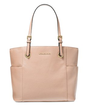 2d09307e3675 Michael Kors | Ballet Pink Jet Set Travel Pebbled Leather Tote