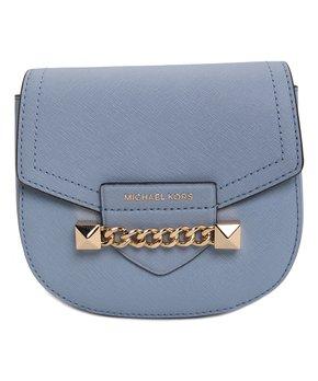 5523dc89881e only 6 left · Michael Kors | Pale Blue Karla Leather Crossbody Bag