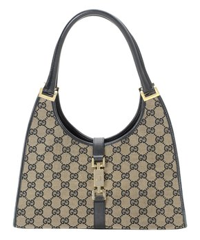 b8949b7321c1 Gucci | Pre-Owned Beige GG Creole Canvas Hobo Bag. shop now. only 1 left