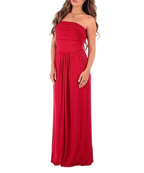 2330b4b65c90 Swoon-Worthy Strapless Maxi Dresses | Zulily