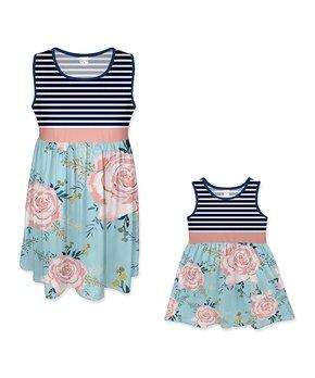 9a7e67bc95c61 blue white floral penelope dress 290327 56414701.html