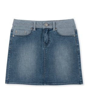 49b59a34cf Girls' Denim Skirts - Shop Jean Skirts for Girls and Babies | Zulily