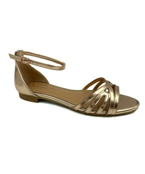 b6d1dd51e22a Sleek Metallic Sandals