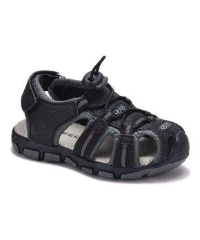 36d135f6e Black Bungee Closed-Toe Sandal - Boys
