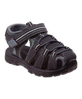 Rugged Bear Boys Sport Sandals 8 Toddler Black//Gray