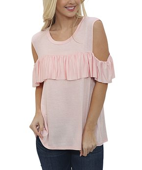 4d752575662 cold shoulder tops | Zulily